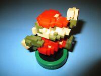 Super Mario Bros. 30th Anniversary Brown & Red Amiibo Figure Nintendo Used