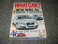 WHAT CAR ?   MAGAZINE  NEW REG SPECIAL      2004      ENGLISH MONTHLY