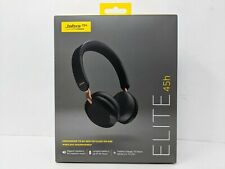 Jabra - Elite 45h Wireless On-Ear Headphones - Copper Black