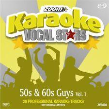 Zoom Karaoke Vocal Stars Series Volume 8 CD+G - 50s & 60s Guys (Vol.1)