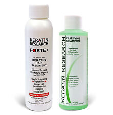 Keratin Forte Brazilian Blowout Treatment 120ml with Clarifying Shampoo 120ml