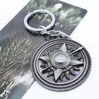 Keychain / Porte-clés - Game of Thrones House Martell Pendant - Silver