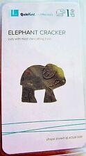 "Elephant Animal Cookie Cracker Quickutz 2x2"" Thin Metal Die DS0298 NEW!"