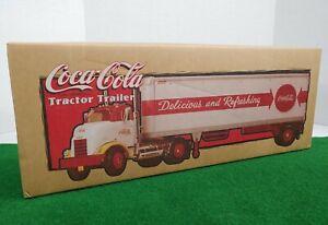 ERTL 1954 GMC CAB Tractor & Trailer Coca-Cola 1/25 Scale DieCast H843 NIB RARE!!