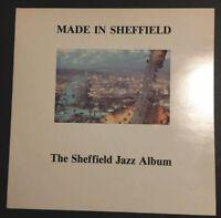 MADE IN SHEFFIELD - THE SHEFFIELD JAZZ ALBUM - Various - Vinyl LP HJ001 1988 EX