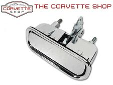 C3 Corvette Exterior Chrome Door Handle Right Hand w/ Gasket RH x2033 1969-82