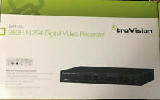 Interlogix TVR-1204C-1T 4Ch TruVision 960H DVR, 1TB with 3 960H Wedge IR Cameras