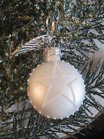 ★stern christbaumkugel weihnachtsohrring mit schutz engels flügel und brisur 3cm