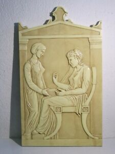 Special Panel Wall Decoration With Shapes Neo-Classical IN Embossed