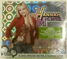 HANNAH MONTANA [Special Edition Soundtrack] by Miley Cyrus (CD+DVD/2 Discs-2007)