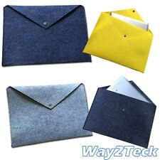 Envelope Sleeve Felt Case Pad Cover Bag Pouch Fo Samsung Tablet Asus Book Folder