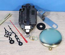 "Quartz Battery Pendulum Clock Movement LIFETIME WARRANTY 1/4""  Dial w/ pendulum"