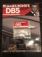 JAMES BOND 007 - ASTON MARTIN DB5 - 1:8 SCALE BUILD - GOLDFINGER - CAR PART 56
