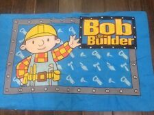Bob The Builder Pillowcase Vintage Fabric Material Crafts