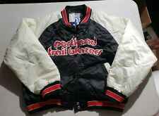 Vintage Portland Trail Blazers JACKET NBA Hardwood Classics G-III WOMEN'S XL