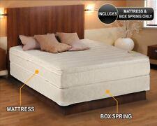 Dream Solutions Usa Comfort Pedic Firm PillowTop Queen Size Mattress Set with.