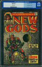 New Gods #1 CGC 9.4 DC 1971 1st Orion! 4th Darkseid! Jack Kirby! F7 111 cm clean