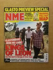 NME JUNE 28 2008 KINGS OF LEON RADIOHEAD LAST SHADOW PUPPETS OASIS LETHAL BIZZLE