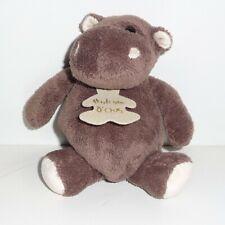 Doudou Hippopotame Histoire d'Ours