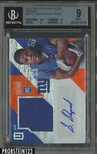 2016 Panini Unparalleled Orange Sterling Shepard RC Jersey 6/49 BGS 9 w/ 10 AUTO