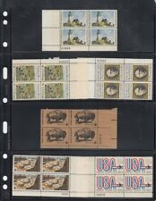 Lighthouse Vario Pages 4S 4 Rows Stamps Sheets Pack of 5 Black Free Us Shipping