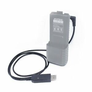 BL-5L 3800mAh Battery 2.5mm USB Charger Cable For BaoFeng UV-5R UV-S9 PLUS Radio