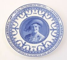BNIB Wedgewood Queen Mother Commerative Plate 1900-2002 Daily Mail Queen's Ware