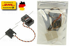 AR6210 DSMX + DSM2 Empfänger RX  ideal für Spektrum Sender 6 Kanäle   G126