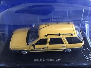 Véhicule Miniature Renault 21 Nevada  - 1989 - Collection Musée de la Poste