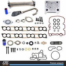 Upgraded High Flow Oil Cooler Kit & EGR Delete Kit w/ Gaskets 03-10 Ford 6.0L V8