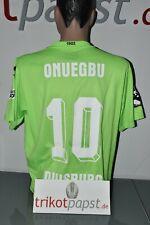 MSV Duisburg Trikot #10 Onuegbu Gr. 2XL Uhlsport MSV Black Crevice DFB Pokal