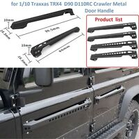 4*Metal Door Handle Replace for 1/10 RC Traxxas TRX4 Land Rover D90 D110 Crawler