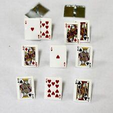 GAMBLING CARD BRADS ** NEW ** EYELET OUTLET ** REDUCED!!! LAS VEGAS