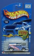 HOT WHEELS 2002 ANGLIA PANEL #143 BLUE FACTORY SEALED  Additional ship free