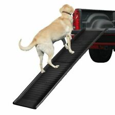 Foldable Dog Pet Ramp Outdoor & Indoor Stairs ladder Ladder Step Car Suv 5 ft
