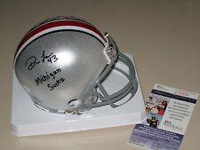 Darron Lee signed Ohio State Buckeyes OSU Mini Helmet JSA Michigan Sucks NY Jets