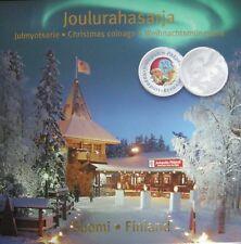 Finland BU set 2010 Kerst set met gekleurde penning