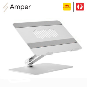 "Adjustable Aluminium Laptop Stand Portable Tray Holder Riser For MacBook 10""-17"""