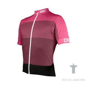 POC Fondo Light Men's Jersey Sulfate Multi Pink,Size Large NWT