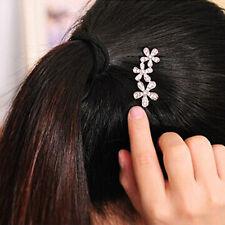 New Fashion Woman Lady Rhinestone Plum Flower Hairpin Hair Clip Hair Accessories