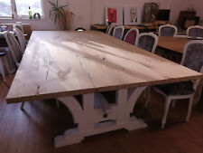 Extra wide Reclaimed Oak 10-12-14 seat dining table,Infinity Range,Any colour