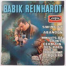 "BABIK REINHARDT: Swing 67 Rare VOGUE EP Jazz Guitar NEAR MINT 45 7"" w/ PS"
