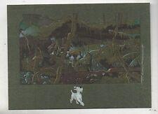Carte Postale Tintin par Pascal SOMON.Tintin et Castafiore dans la Jungle