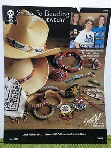 Vintage Suzanne McNeill Santa Fe Beading Patterns Easy Jewelry #2079