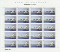 Edward Hopper American Treasures Sheet of 20 Forever Stamps Scott 4558