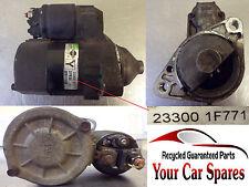 Nissan Micra K12 1.0 / 1.4 - Starter Motor for Manual Models - 23300 1F771
