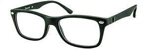 iWear 2040 Bold Classic Shape Glasses with Prescription Lenses 48-18-136