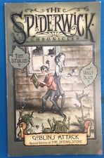 THE SPIDERWICK CHRONICLES Goblin by DiTerlizzi & Black (2007) S&S illustrated pb