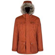 Cappotti e giacche da uomo stile parka arancione