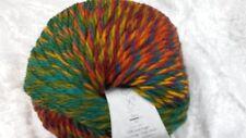 Katia Montblanc #72 Red Orange Yellow Green Aqua Mix 100g
